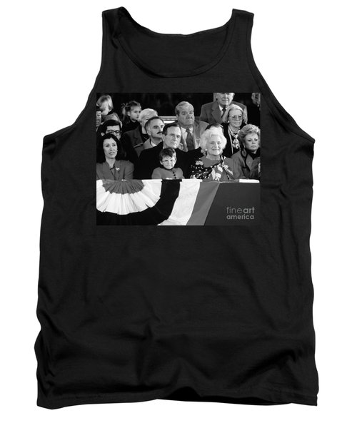 Inauguration Of George Bush Sr Tank Top by H. Armstrong Roberts/ClassicStock