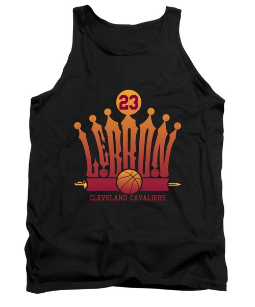 Lebroncrown Tank Top by Augen Baratbate