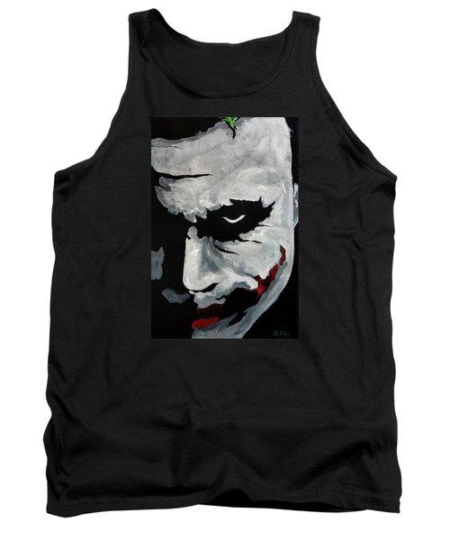 Ledger's Joker Tank Top by Dale Loos Jr