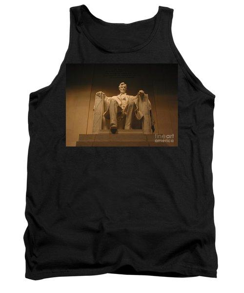 Lincoln Memorial Tank Top by Brian McDunn
