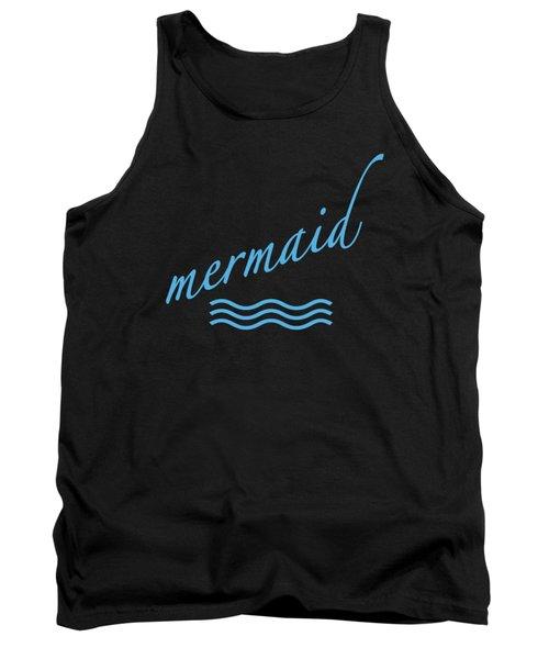 Mermaid Tank Top by Bill Owen