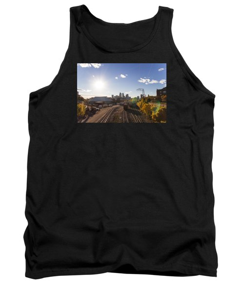 Minneapolis In The Fall Tank Top by Zach Sumners