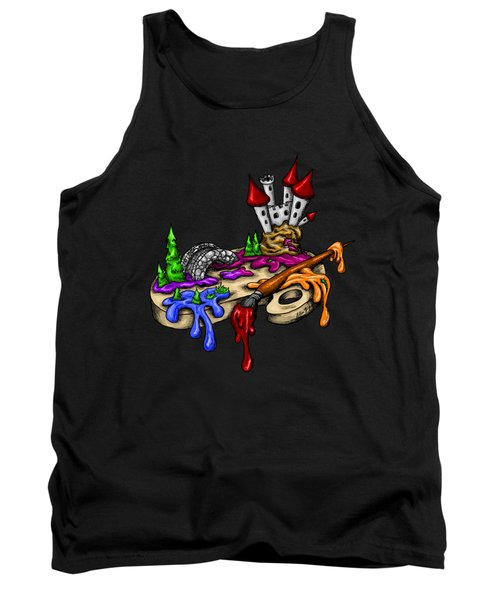 My Color Palette Tank Top by Alexandra Franzese