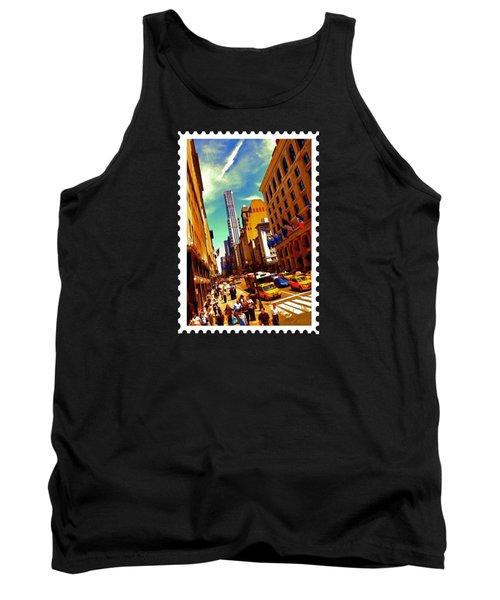 New York City Hustle Tank Top by Elaine Plesser