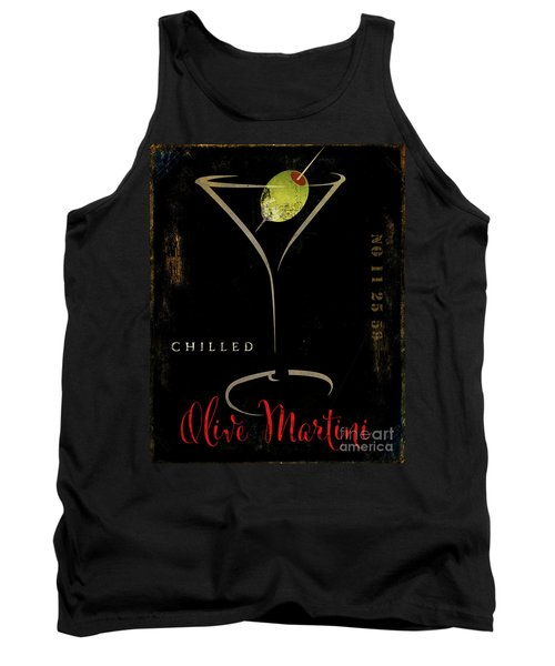 Olive Martini Tank Top by Mindy Sommers
