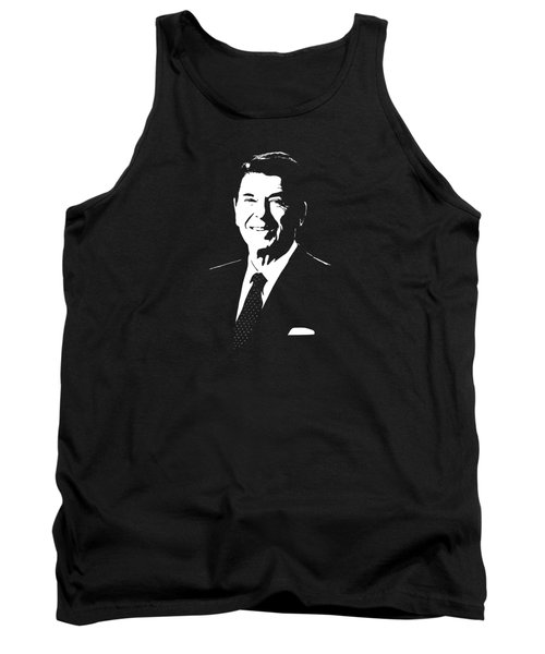 President Ronald Reagan Tank Top by War Is Hell Store