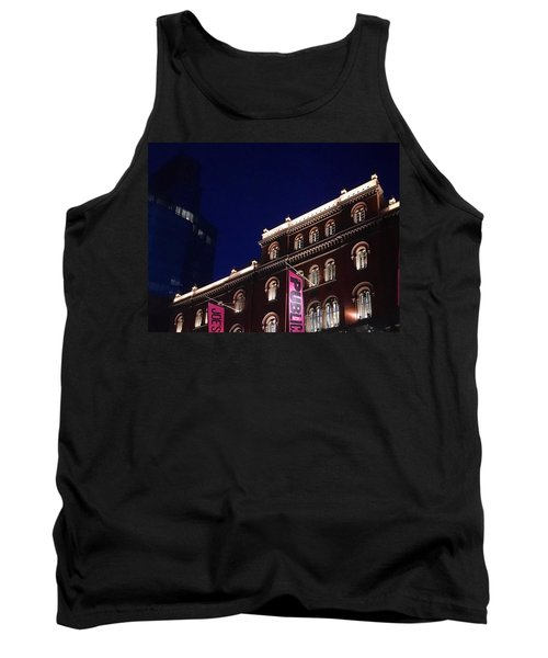 Public Theater Nyc  Tank Top by Sandy Taylor