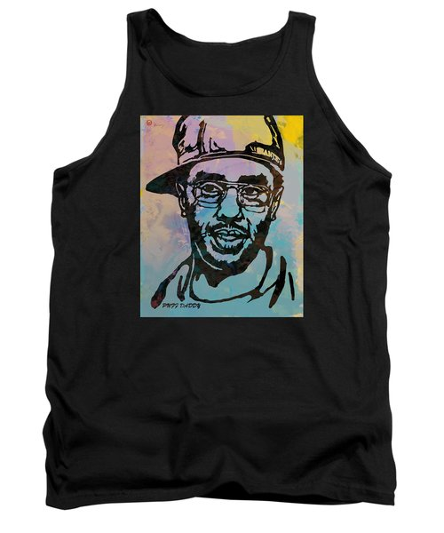 Puff Daddy Pop Stylised Art Poster Tank Top by Kim Wang