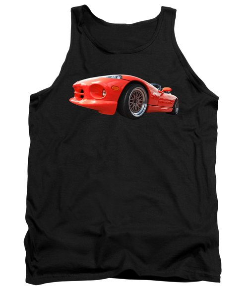 Red Viper Rt10 Tank Top by Gill Billington