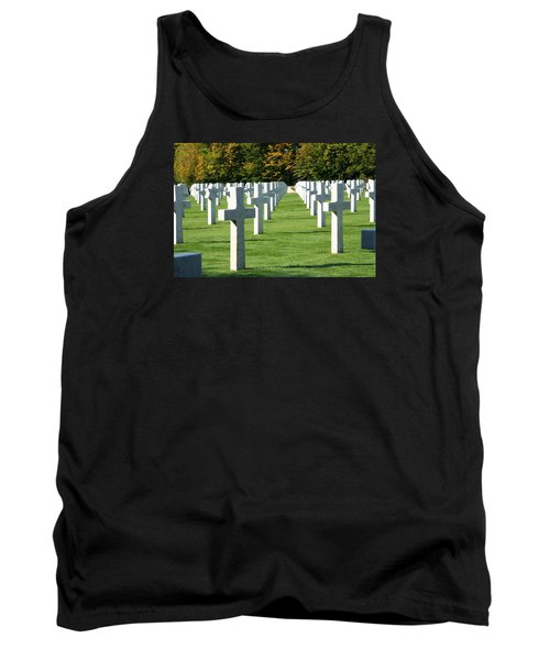 Tank Top featuring the photograph Saint Mihiel American Cemetery by Travel Pics