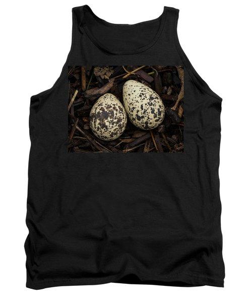 Speckled Killdeer Eggs By Jean Noren Tank Top by Jean Noren