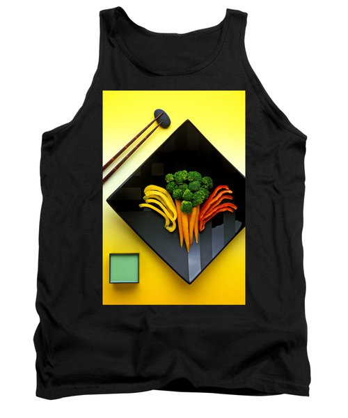 Square Plate Tank Top by Garry Gay