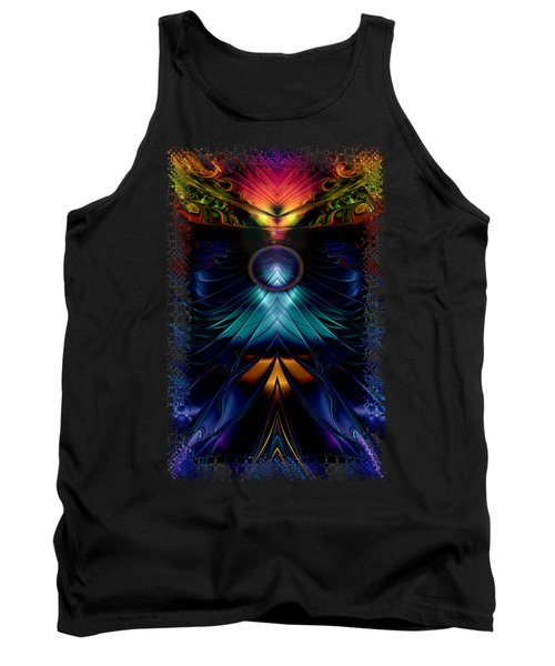 Stargatez Symmetrical Abstract Tank Top by Sharon and Renee Lozen