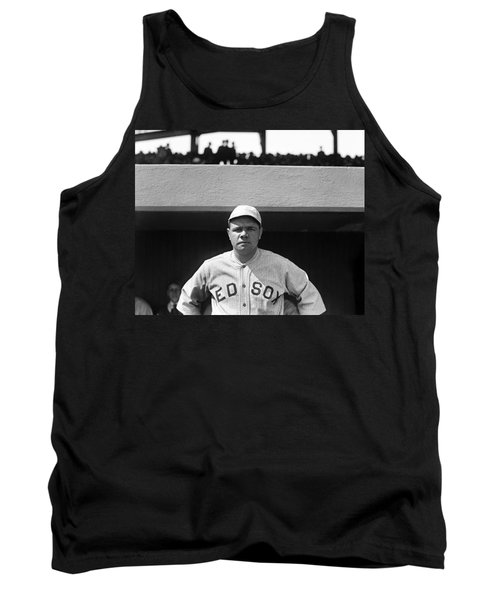 The Babe - Red Sox Tank Top by International  Images