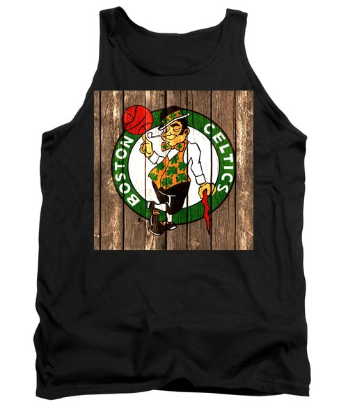 The Boston Celtics 2a Tank Top by Brian Reaves