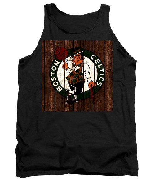 The Boston Celtics 2c Tank Top by Brian Reaves
