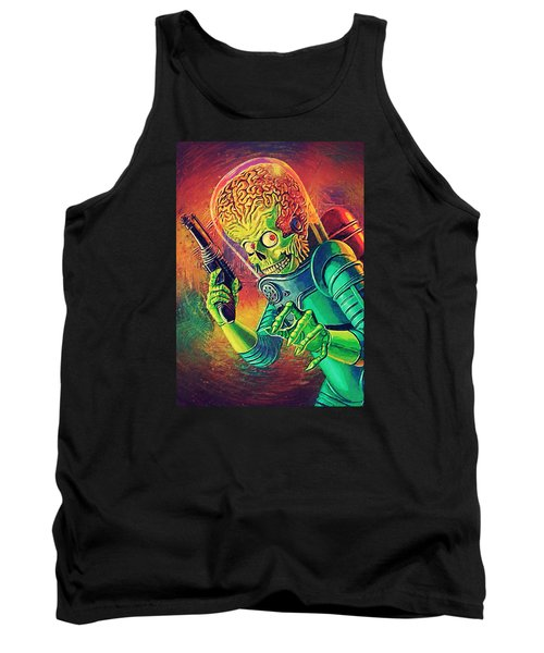 The Martian - Mars Attacks Tank Top by Taylan Apukovska