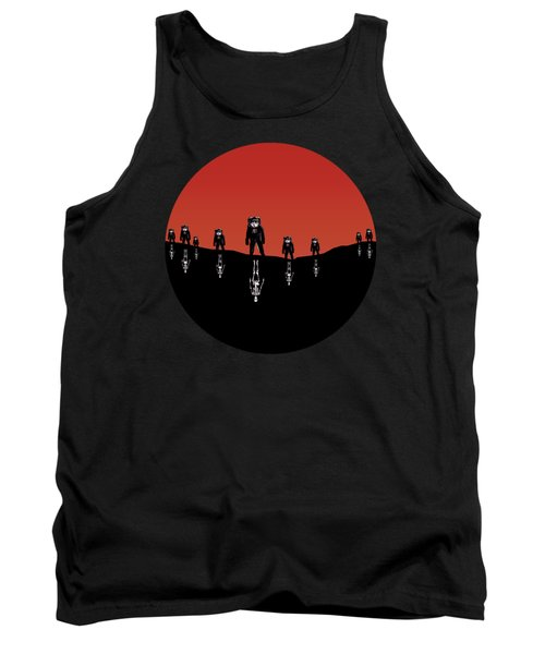 The Rust Coloured Soil - Something Strangely Familiar Tank Top by Zombie Rust