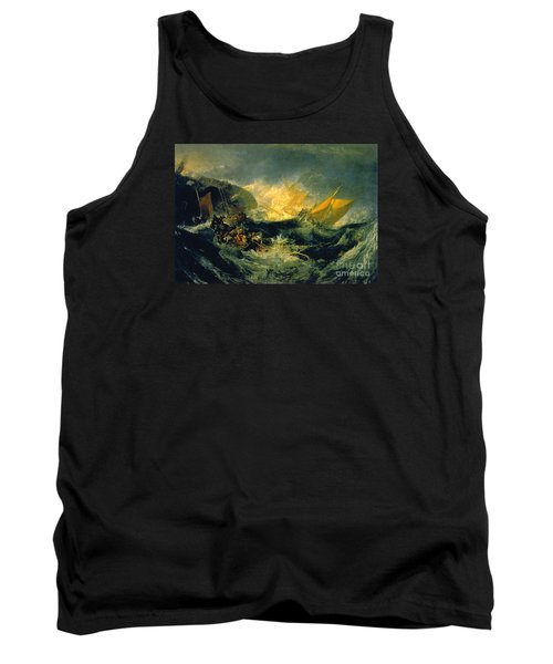 The Shipwreck Of The Minotaur Tank Top by MotionAge Designs