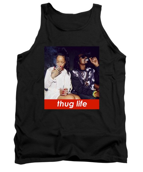 Thug Life Tank Top by Bruna Bottin