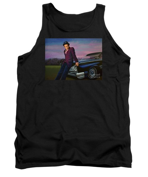 Tom Waits Tank Top by Paul Meijering
