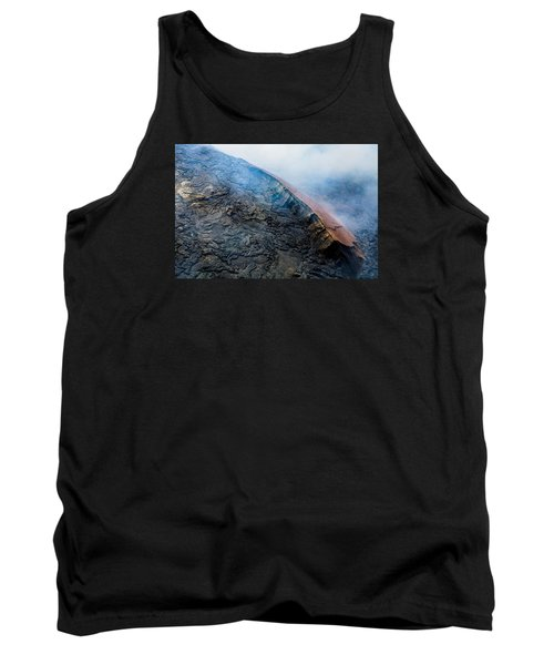 Tank Top featuring the photograph Volcanic Ridge by M G Whittingham