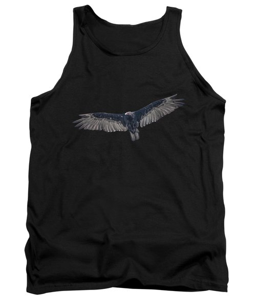 Vulture Over Olympus Tank Top by Nick Collins