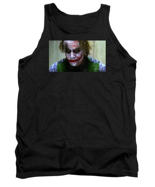 Why So Serious Tank Top by Paul Tagliamonte
