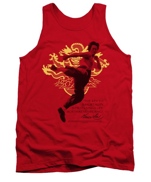 Bruce Lee - Immortal Dragon Tank Top by Brand A