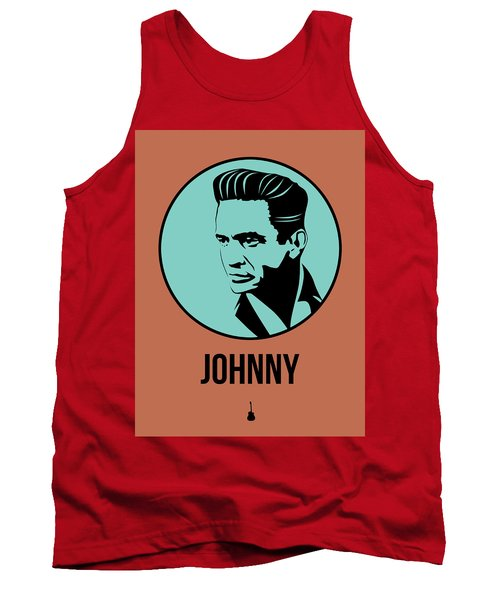 Johnny Poster 1 Tank Top by Naxart Studio