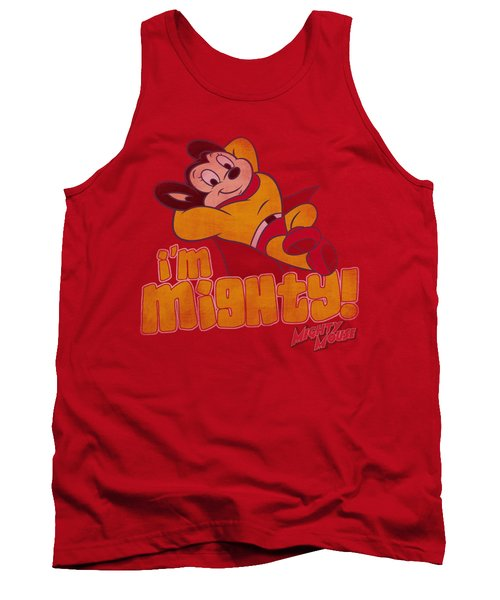 Mighty Mouse - I'm Mighty Tank Top by Brand A