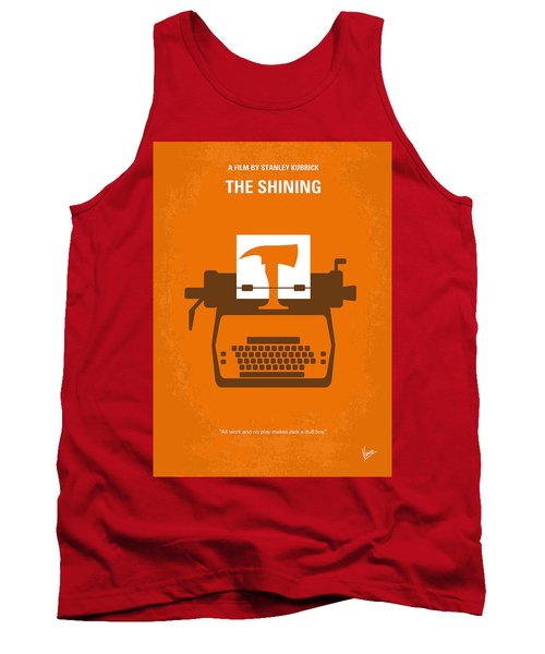 No094 My The Shining Minimal Movie Poster Tank Top by Chungkong Art