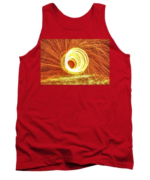 Shooting Sparks Tank Top by Dan Sproul