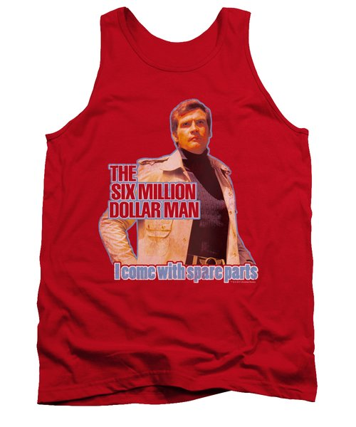 Six Million Dollar Man - Spare Parts Tank Top by Brand A