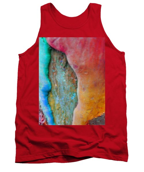 Tank Top featuring the digital art Become by Richard Laeton