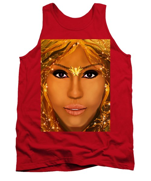 Jessica Alba Fairy Tale Tank Top by Mathieu Lalonde