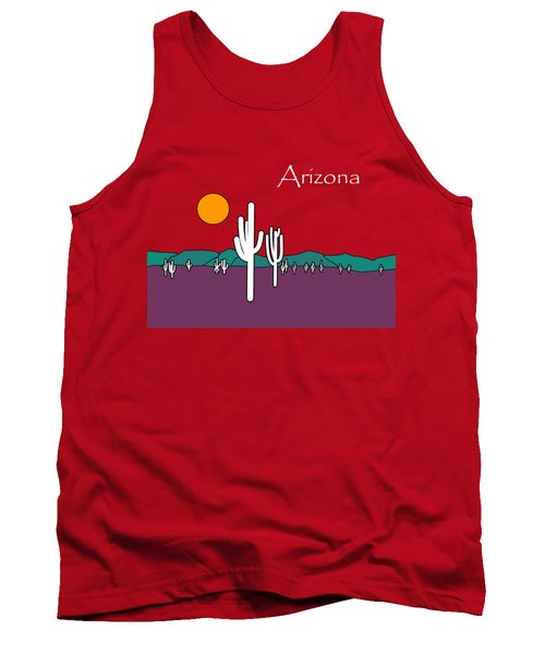 Desert Sunset Tank Top by Methune Hively