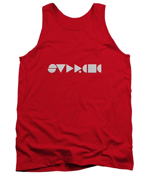 Supreme Being Embroidered Abstract - 2 Of 5 Tank Top by Serge Averbukh