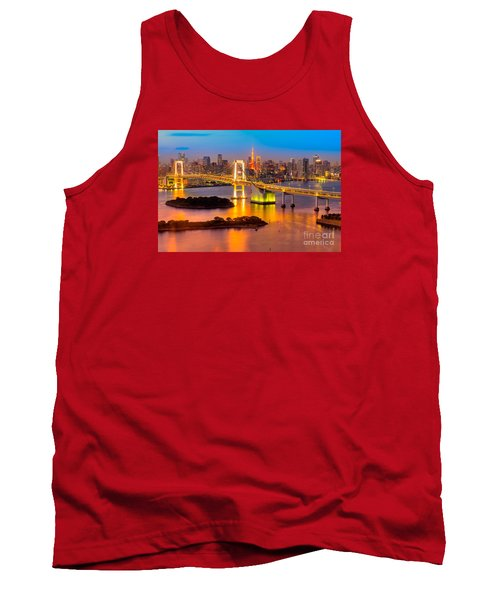 Tokyo - Japan Tank Top by Luciano Mortula