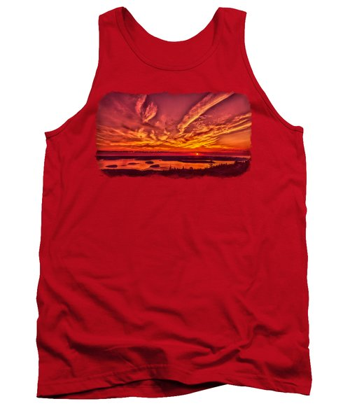 A New Maine Day Tank Top by John M Bailey