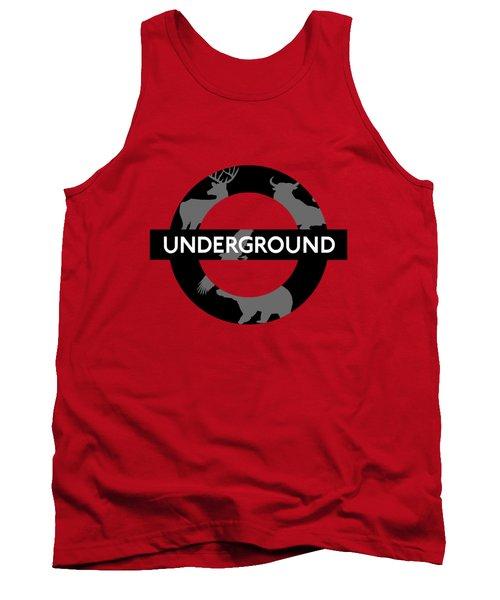 Underground Tank Top by Alberto RuiZ