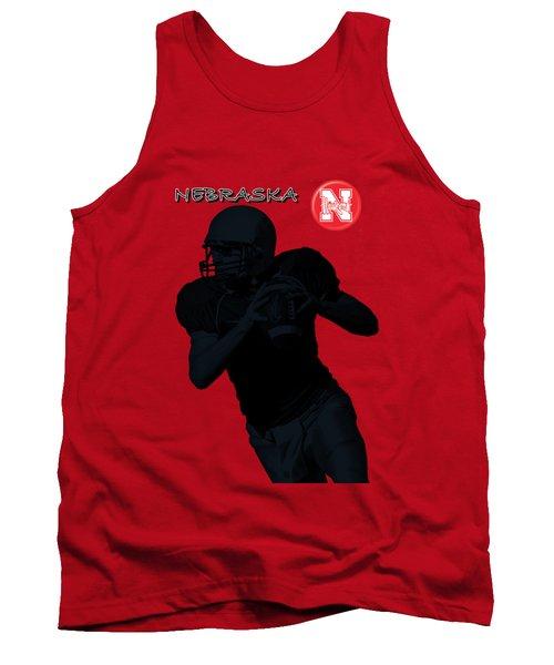 Nebraska Football Tank Top by David Dehner