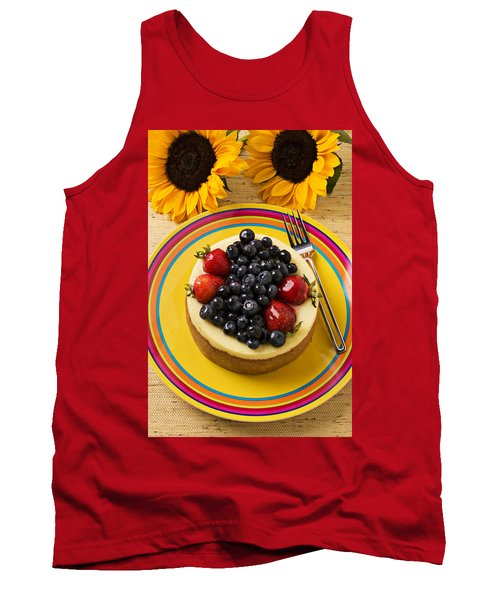 Cheesecake With Fruit Tank Top by Garry Gay