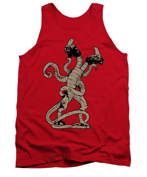 Demogorgon Stranger Things Digital Version Tank Top by Jason Wright