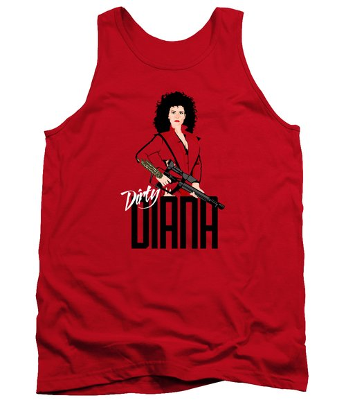 Dirty Diana Tank Top by Mos Graphix
