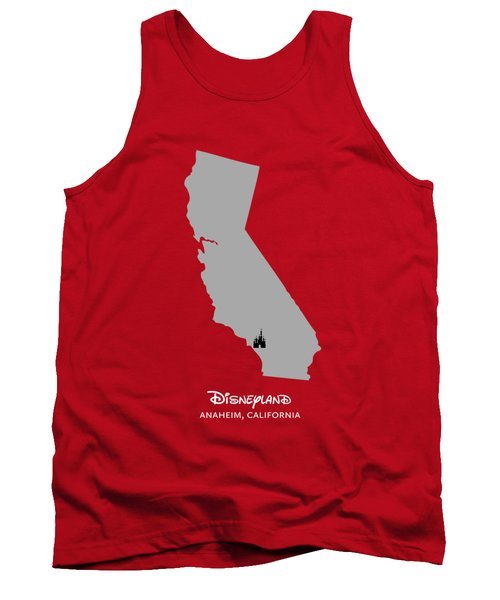 Disneyland Tank Top by Nancy Ingersoll