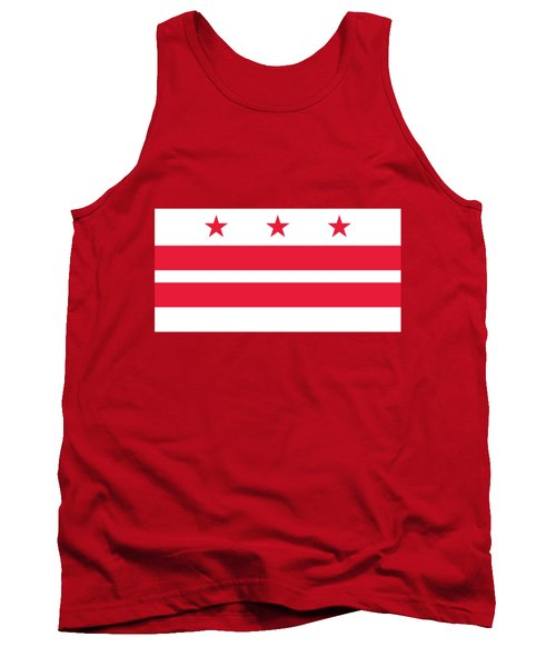 District Of Columbia Tank Top by Frederick Holiday