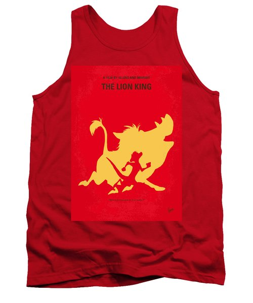 No512 My The Lion King Minimal Movie Poster Tank Top by Chungkong Art