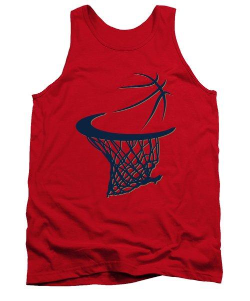 Pelicans Basketball Hoop Tank Top by Joe Hamilton