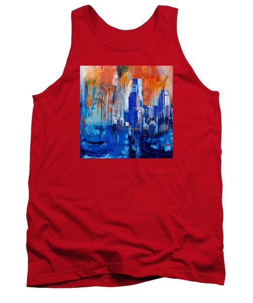 Philadelphia Skyline 227 1 Tank Top by Mawra Tahreem